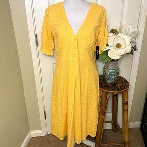 New Lulu's Yellow Summer Dress